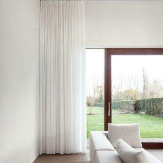 cortina de tela gasa